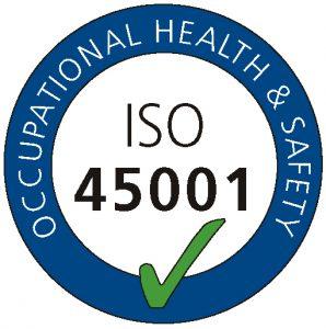 ISO 45001 SERTIFISERTE BEDRIFTER